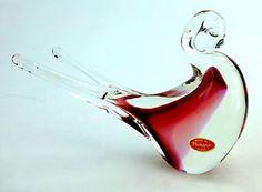 Murano Italian Art Glass Bird Figurine - Hand blown glass. Beautiful #gift idea from #GreatSkyGifts on #eBay. Order today: http://stores.ebay.com/Great-Sky-Gifts?refid=store #ArtGlass #Handmade #GiftIdeas