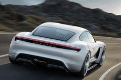 [画像]ポルシェ、航続距離500kmを超える600PSのEVスポーツカー「ミッションE」 / 800Vの「ポルシェ・ターボ・チャージング」で、15分で約80%充電可能 - Car Watch