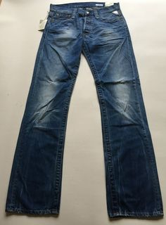 Mens Replay Jeans 30  x  34 Doc Straight New With Tags Authentic