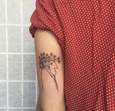 Nothingsqueen94 Tasteful Tattoos, Dainty Tattoos, Circle Tattoos, Line Tattoos, Stag Tattoo, Tattoo Magazine, Cute Tats, Line Work Tattoo, Arm Tattoos For Women