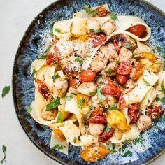 Roasted Tomato Chicken Pasta