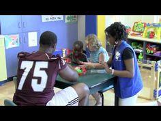 Mississippi State Football Team Visits Batson Hospital | http://newsocracy.tv
