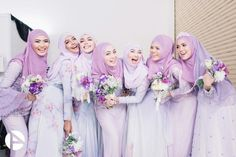 Lilac bridesmaid outfit @minaz.my
