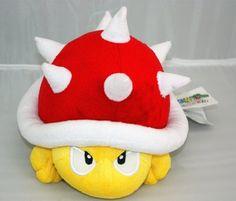 "Nintendo Super Mario Spiny 6"" Stuffed Toy by PLUSH, http://www.amazon.com/dp/B00CRBI91M/ref=cm_sw_r_pi_dp_y4EUrb14HD1PT"