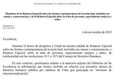 Exclusivo: el lapidario informe de la ONU sobre esclavitud y corrupción en las misiones de médicos cubanos Math Equations, Human Trafficking