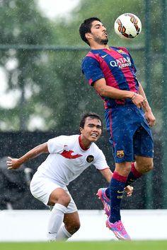 Luis Suarez of FC Ba