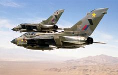 Top Gun had nothing on us: 14 Squadron Jaguars and 31 Squadron Tornados, 1984-86. GoldStar Delta Echo - fond memories.