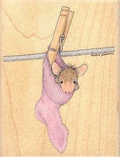 In A Pinch - House Mouse Rubber Stamps