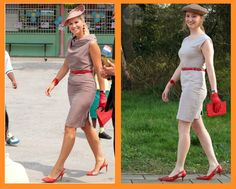 The Look For Less: Queen Máxima (recreated from thrift store items)