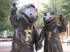 Albert and Alberta, greatest mascots EVER.