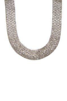 Austrian Crystal Collar Necklace on HauteLook