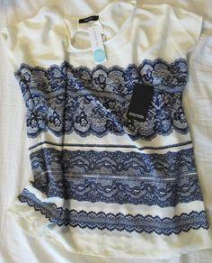 Stitch Fix blouse love the blue