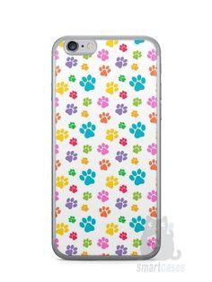Capa Iphone 6/S Patinhas Coloridas #1 - SmartCases - Acessórios para celulares e tablets :)