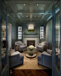 Transitional Living Room By Vallone Design