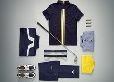 J.Lindeberg – Innovative performance fabrics in the Autumn/Winter 2014-15 Golf Collection