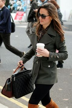 Pippa Middleton Boots Quilted Bag