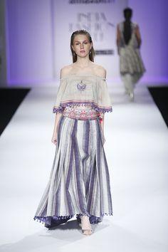 Poonam Dubey at Amazon India Fashion Week spring/summer 2017