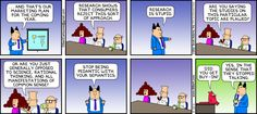 Dilbert comic strip for from the official Dilbert comic strips archive.