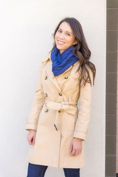 5 Must Have Fall Jackets & Coats | Fall outfit inspiration | Burberry Whitmore Olive Green Military Jacket | Burberry Trench coat with liner and removeable hood | J. Crew Factory trench coat | Banana Republic burgundy trench coat | Petite fashion and style blog | Nordstrom cashmere linen scarf