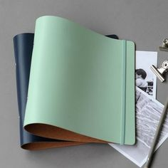 Recycled Leather Ring Binder - In 37 Colours! A4 Ring Binder, Swatch, Leather Binder, Recycling, Create A Company, Presentation Folder, Leather Ring, Page Marker, Recycled Leather