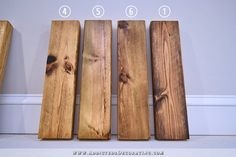 How To Stain Pine A Warm Medium Brown While Minimizing Ugly Pine Grain - Addicted 2 Decorating®