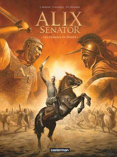 Alix Senator T4, des démons de Sparte à la Pythie - http://www.ligneclaire.info/mangin-demarez-32541.html