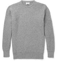 William Lockie - Cable-Knit Cashmere Sweater|MR PORTER