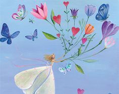 by Mila Marquis flower bouquet