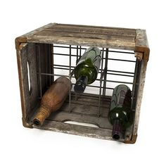 These reclaimed crates make a perfect place to store and display wine bottles, but in their previous life, they were used by local dairy farms to transport milk. Take 15% off on orders $ 100+ with #FreeShipping using the Bambeco's code here: www.couponfinder.com/s/750929/bambeco-coupons?xtrnl=pinterest