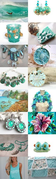 TROPICAL JOYS by Vickie Wade on Etsy--Pinned with TreasuryPin.com