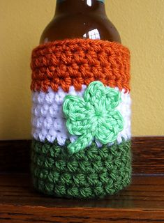 Free crochet pattern! Show off your Irish heritage, whether you celebrate it all year or just vicariously on St. Paddy's day.