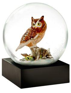 Snow Globe Owl