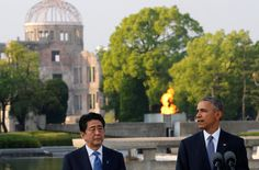 President Obama told an audience in Hiroshima on Friday that technology often outruns the human ability to manage that progress.
