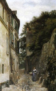 Montmartre, the Rue Saint-Vincent, 1873-1878, Stanislas Lépine
