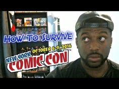 How To Survive New York Comic Con - NYCC 2016 - Video --> http://www.comics2film.com/how-to-survive-new-york-comic-con-nycc-2016/  #Comic-Con