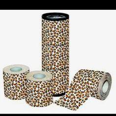 Leopard toilet paper!!