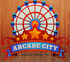 Arcade City at The Island • Have some family friendly fun here at the Island! Where there is so much to do and experience! #pigeonforge