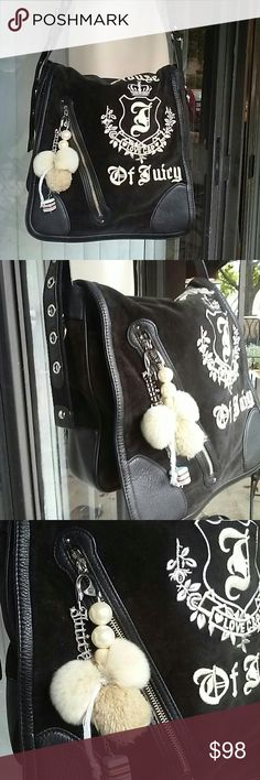 Juicy couture. Large cross body bag Vary good condition Juicy Couture Bags Crossbody Bags