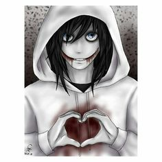 Te Amo Jeff the killer The Puppeteer Creepypasta, Scary Creepypasta, Creepypasta Proxy, Jeff The Killer, Familia Creepy Pasta, Creepy Pasta Family, Creepy Drawings, Cute Drawings, Laughing Jack Anime
