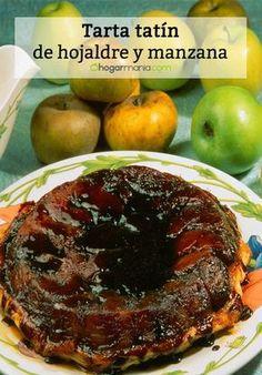 Receta de Karlos Arguiñano de tarta tatín de hojaldre y manzana.