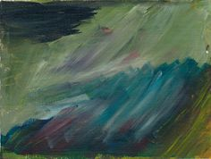 Upswing Original 45 x 6 Inch Acrylic Painting by GallivantingGirl