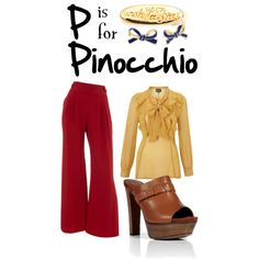 P is for Pinocchio