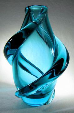 Design Glas Vase, Skrdlovice-Böhmen, bohemia glass 1,1kg via designglas. Click on the image to see more!
