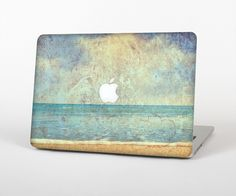 """The Vintage Ocean Vintage Surface Skin Set for the Apple MacBook Pro 15"""" with Retina Display from Design Skinz"""