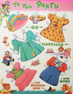 Paper Dolls~Raggedy Ann - Bonnie Jones - Álbuns da web do Picasa
