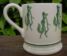 Emma Bridgewater REYNARD FOX 0.5 pint mug from the 1990's