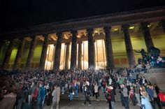 Berlin's 34rd Long Night of Museums on 2014 May 17st http://www.lange-nacht-der-museen.de/en/