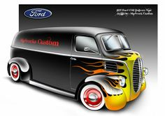 ★ '37 Ford COE Delivery ★