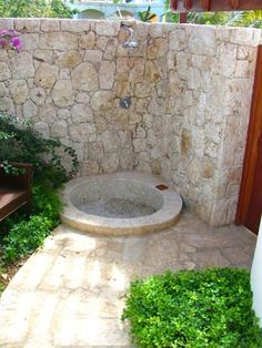 Anguilla Luxury Villas: Our Luxury Anguilla Vacation Away From. Outdoor Sinks, Outdoor Baths, Outdoor Bathrooms, Modern Bathrooms, Outdoor Kitchens, Pool Shower, Garden Shower, Swimming Pools Backyard, Backyard Landscaping