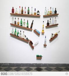 Haha, so many times yes! If I ever get my own bar, I will create one of these!